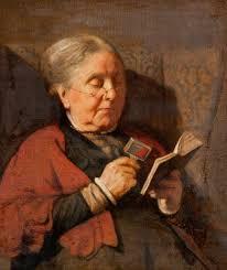 oldwomanreading